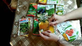 Обзор семян овощей 2019г.