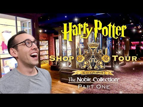 HARRY POTTER | THE NOBLE COLLECTION SHOP TOUR IN LONDON (PART ONE)