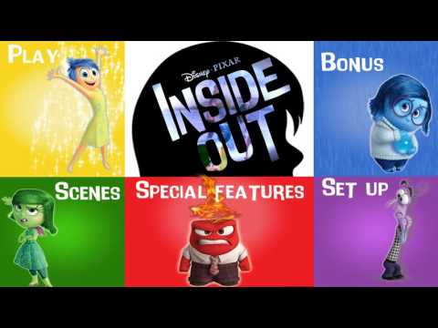 Menú DVD - Inside Out
