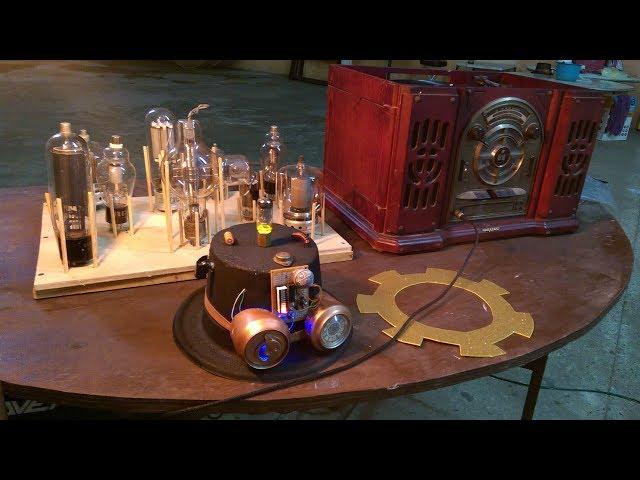 Sombrero VuMeter Steampunk