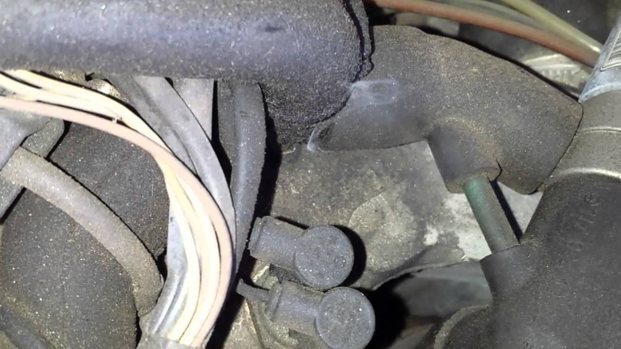 Mercedes high idle  Vacuum leaks  Smoke test