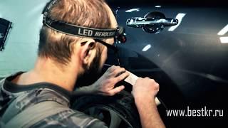 видео Покраска мелких царапин автомобиля своими руками