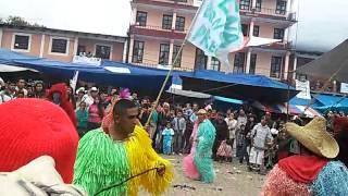 Carnaval Tenango de Doria 2015 Peña Blanca