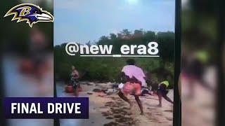Lamar Jackson Dusts Friends in Beach Football | Final Drive