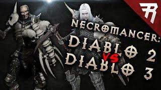 Necromancer: Diablo 3 VS. Diablo 2 (Review + Gameplay)