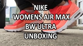 Nike Womens Air Max BW Ultra - Unboxing  & on feet!