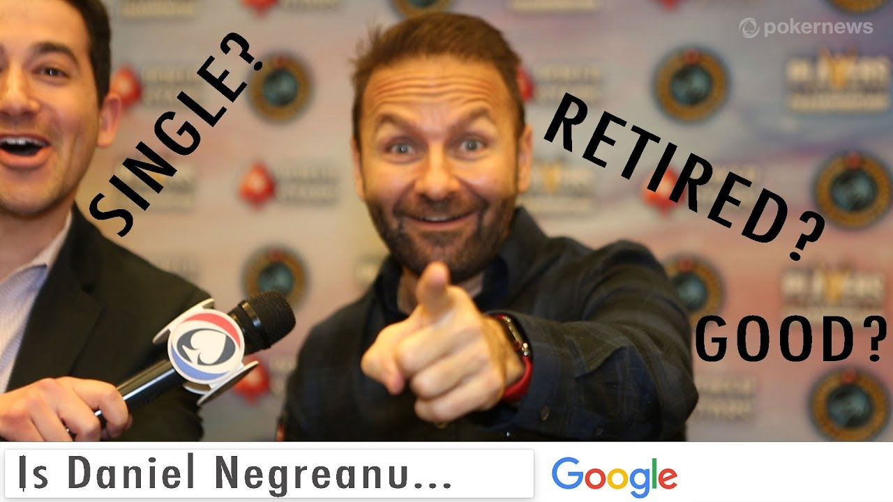 Daniel Negreanu is...Doing an Autocomplete Interview