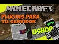Minecraft: Plugins para tu Servidor - uShop (Vende tus Items de Forma Rapida!)