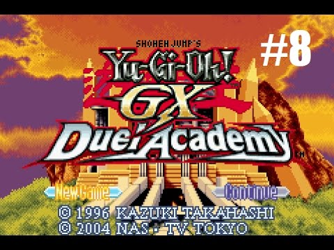Let's Play Yu-Gi-Oh! GX:  Duel Academy #8 - Spell it Out