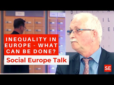 Inequality In Europe - What Can Be Done?