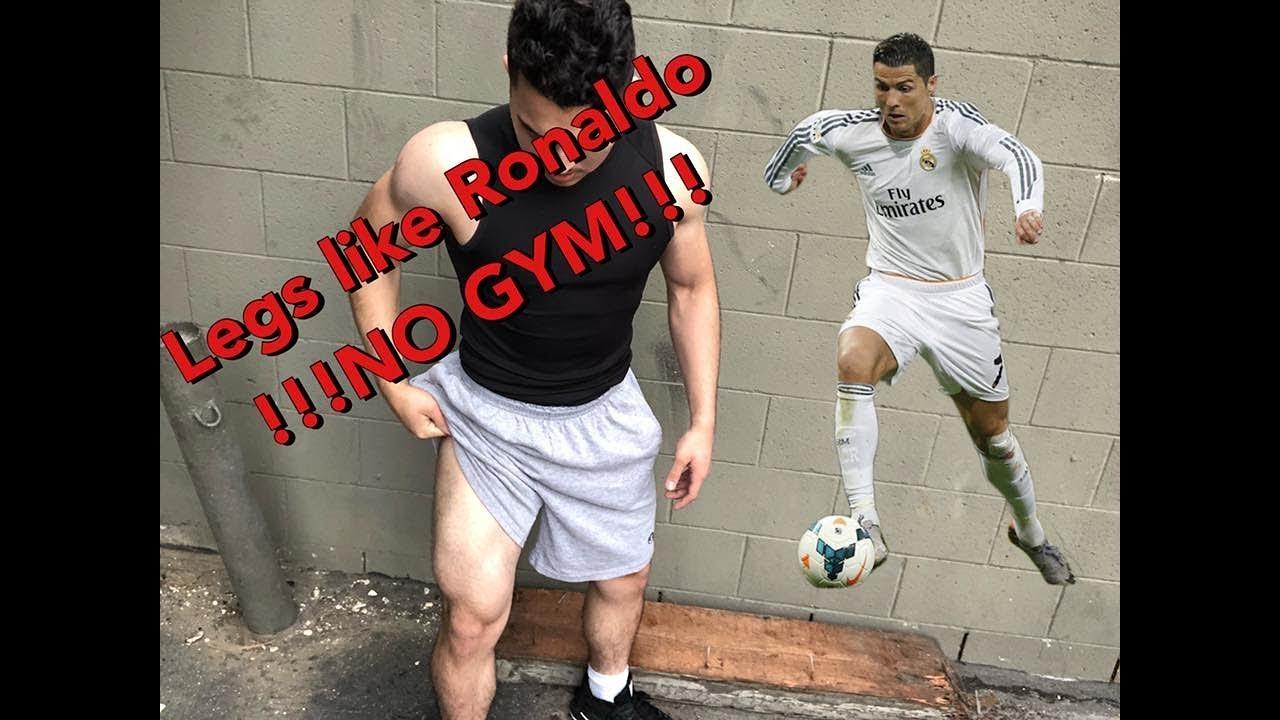 How To Get Cristano Ronaldo Legs No Equipment Youtube