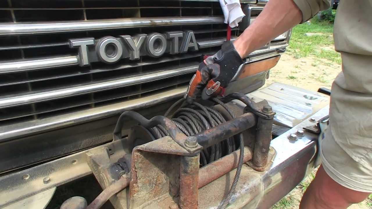 Toyota Land Cruiser Power Take Off Winch Powermodzcom Youtube Fj55 Wiring Diagram