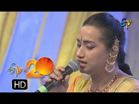 Kalpana,Prudhvi Chandra Performance - Ratraina Naku Song in Karimnagar ETV @ 20 Celebrations