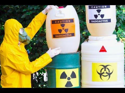 Dangerous Toxic Waste