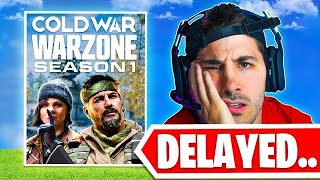 The NEW Warzone Season was DELAYED! 😨 (Modern Warfare Warzone)