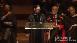 CUNY SPS Commencement 2016 Keynote : Sonia Manzano