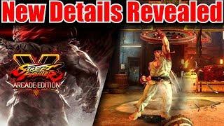 Street Fighter V Arcade Edition New DLC Announced