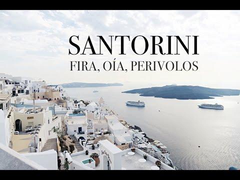 SANTORINI: FIRA, OIA, PERIVOLOS | GREECE EDITION - EP 07