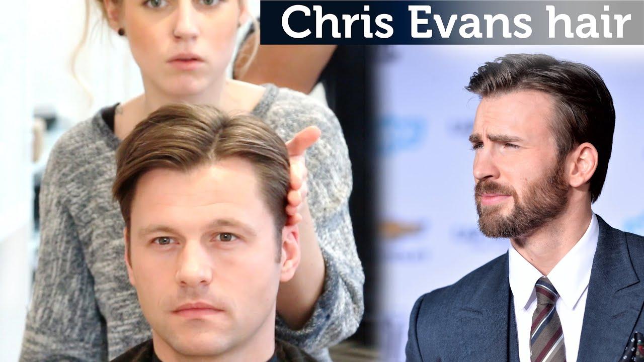 Chris Evans Hair Video Classic Hairstyle For Men Medium Length