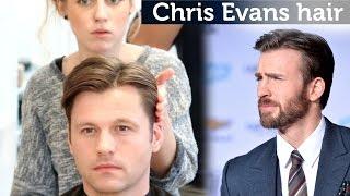 Chris Evans Hair Video   Classic Hairstyle For Men   Medium Length Hair
