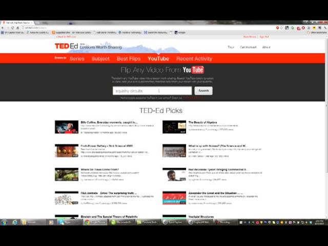 21st Century Techniques - Flipping a classroom using the TED ED platform