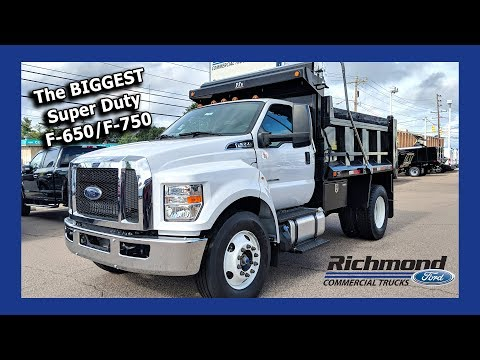 F-650/F-750 Super Duty Review: Ford's Medium Duty Truck