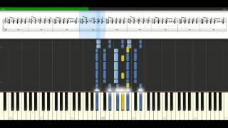 Gorillaz - Feel good inc [Piano Tutorial] Synthesia