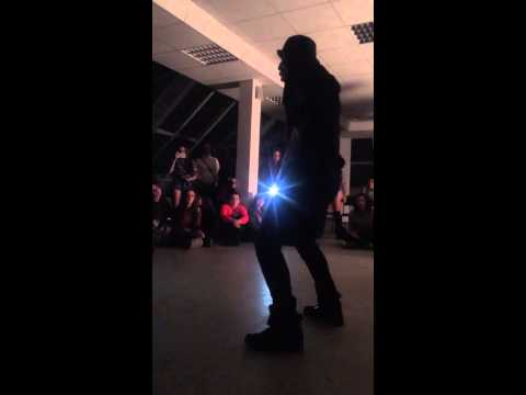 Judge freestyle demo in Omsk(Russia) by Nicholas Mafabi | @nicholashawk | Vybz Kartel - Peanut shell