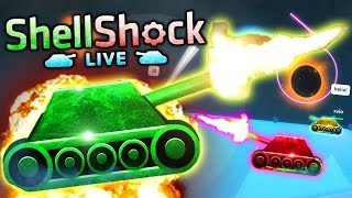Team Crafted VS SHELLSHOCK LIVE (Tank Warfare 4 VS 4)