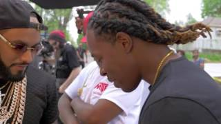 Young Lace comes back home and gives back to his community and shouts out SLEEPO