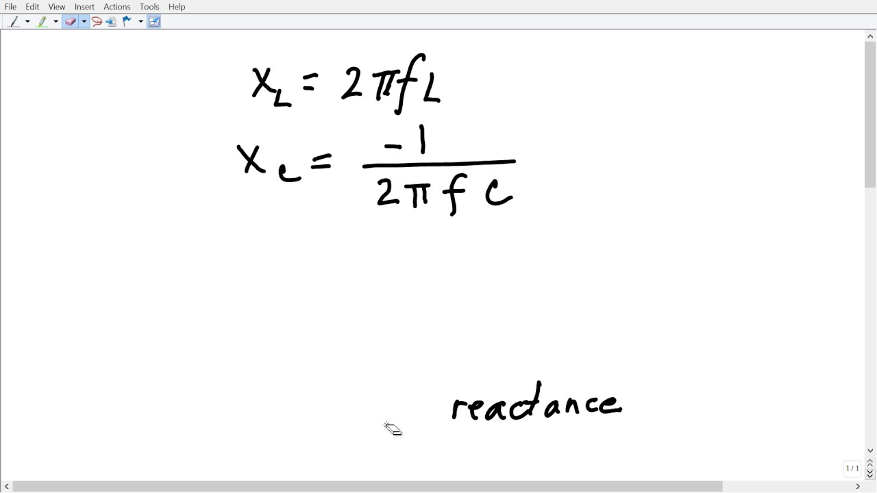 derivation of the lc resonance formula