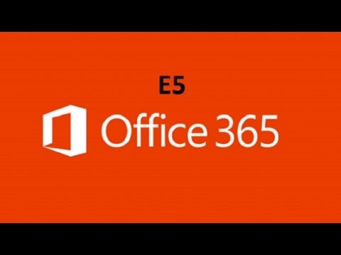 Microsoft - Releases Office 365 E5 For Business