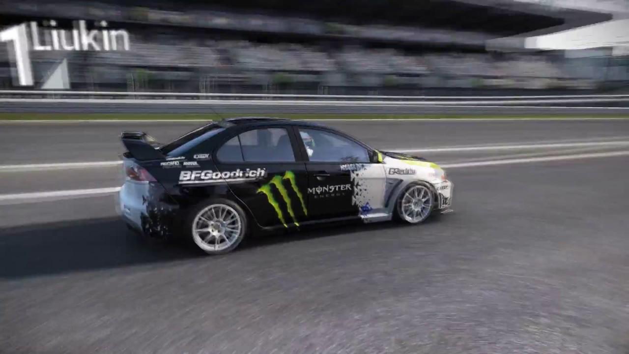 Superb Mitsubishi Lancer Evo X FQ400 Monster Energy   Nürburgring GP   Project CARS Great Ideas