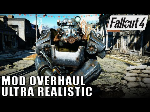 Fallout 4 Mod Overhaul - Ultra Realistic Graphics
