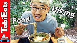The BEST SOBA NOODLES in Mt Takao (Tokyo Japan)