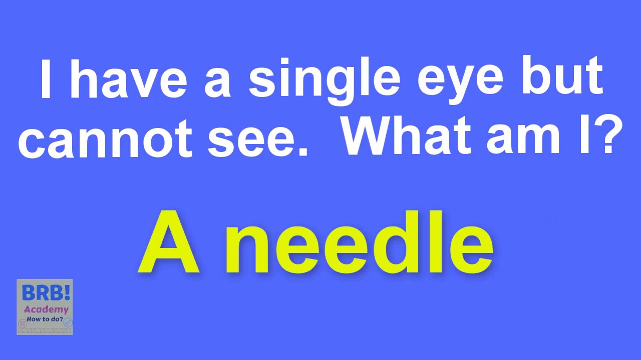 Identify The Tricky Answers What Am I Riddles Hard And Funny Riddles For Kids And Adults Youtube