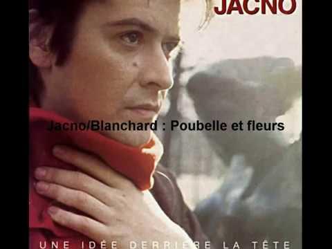 Jacno /Blanchard-Poubelle et fleurs