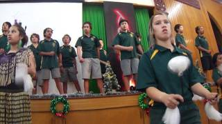 Opunoke Kapahaka Performance at Prize Giving 2011