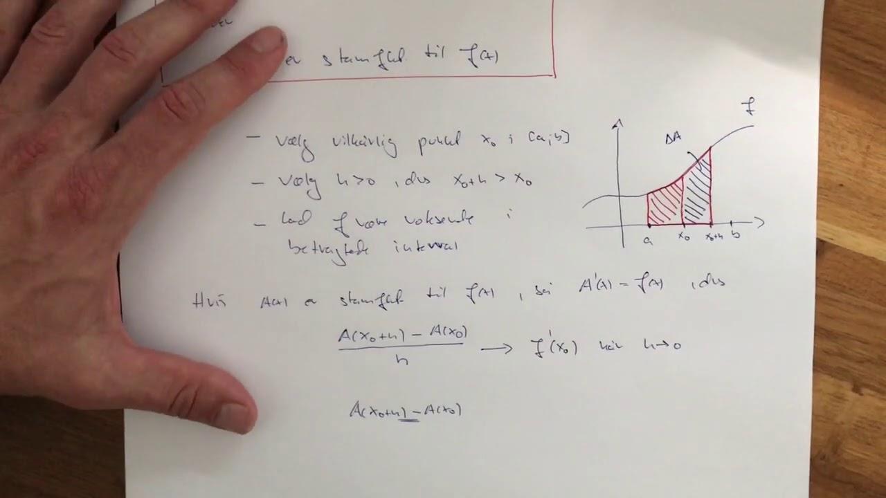 tt integralregning 6 arealfunktionen 2