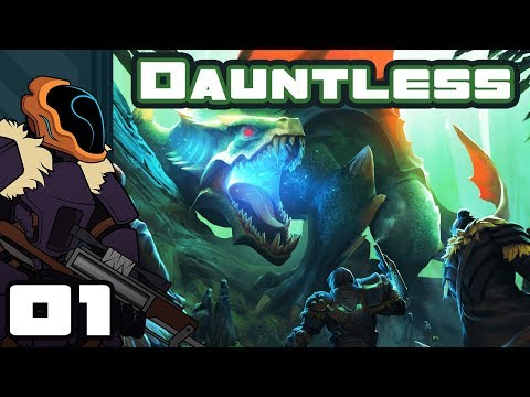 Let's Play Dauntless [Alpha] - PC Gameplay Part 1 - I Am The Indomitable Chin!