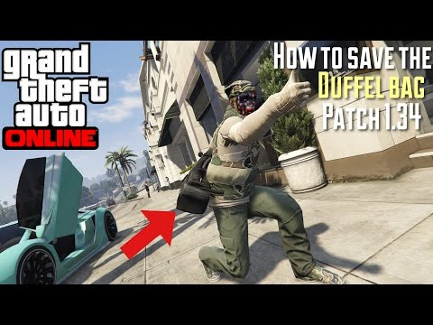 Save Duffel Bag Or Any Heist Outfit After Patch 1.34 | GTA V online