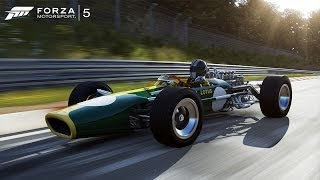 Forza 5 1967 Lotus Type 49 at Circuit de Spa-Francorchamps (Autovista/Test Drive)