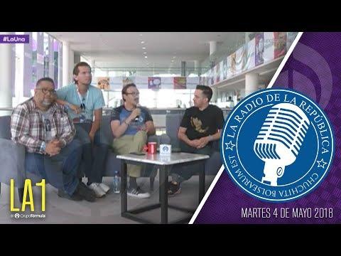 #LA1 - Desde la CONMQUE 2018 - La Radio de la República - @ChumelTorrres