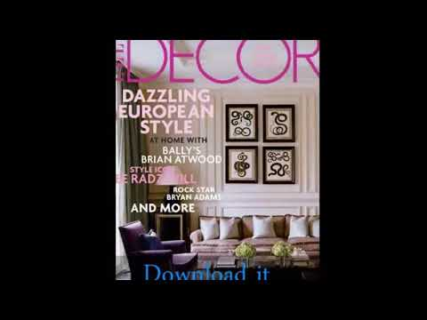 Home Decor Magazines - Home Decorating Magazines And Ideas ...