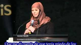 Lauren Booth, Tony Blair's sister  - Reason convert to Islam