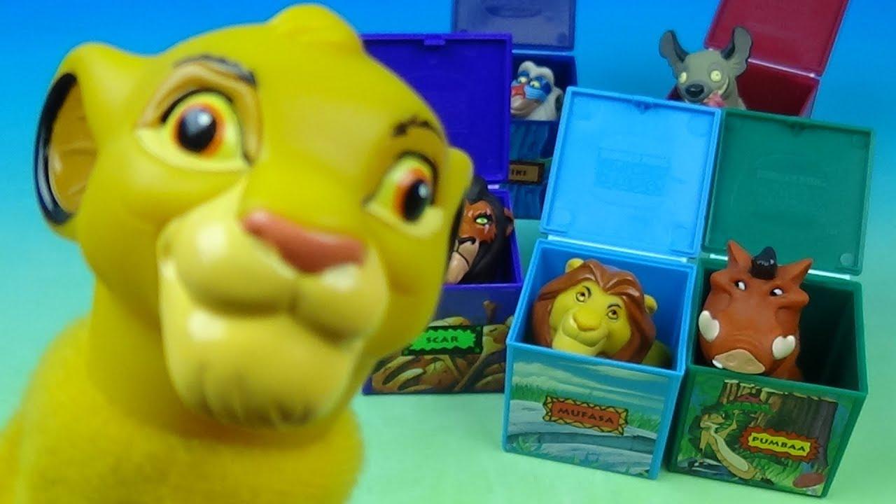 1995 Walt Disneys Masterpiece The Lion King Set Of 6