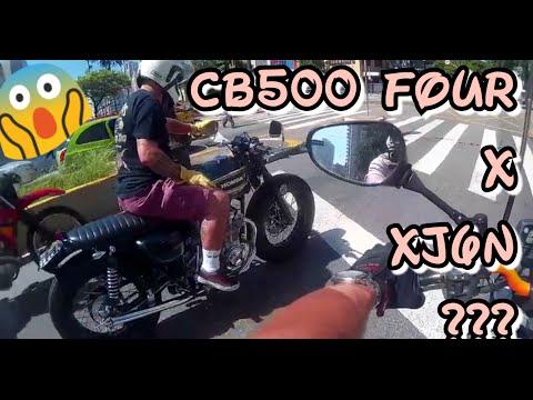 CB500 FOUR x XJ6 ? + CORREDORES + TÚNEL + PISTOLINHA + PROCURANDO MOTO