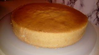 Klassik biskvit N2 (yumurtanın ağını sarısından ayırmaq şərti ilə)
