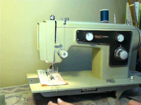 NIFTYTHRIFTYGIRL Vintage Kenmore Model 40 Zigzag Sewing Machine Unique Who Makes Kenmore Sewing Machines For Sears
