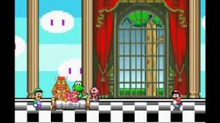 Que paso despues de que Mario Bros salvara a la princesa